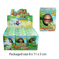 Growing Llama Egg - Wrapped Grotto Toy