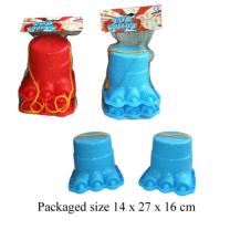 Monster Stilt Feet - Wrapped Grotto Toy