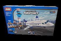 Airport Building Brick Set Compatible with major brands 652pcs
