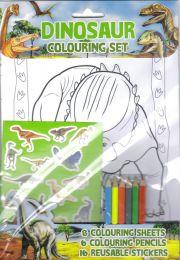 Colouring Set – Dinosaurs