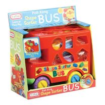 Fun Time - Push Along Shape Sorter Bus