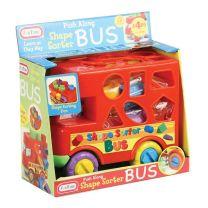 Fun Time - Push Along Shape Sorter Bus