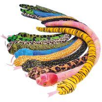 Plush Coloured Snake