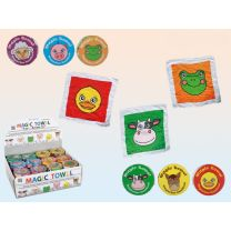 Magic Towel Farm Animals Kids Flannel