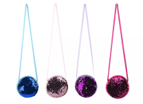 Kids Sequin Bag with Strap