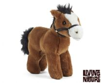 Living Nature Horse with Bridle 23cm