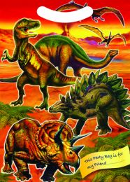 6 Dinosaur Themed Party Bags