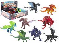 Mystical Toy Dragon Figure