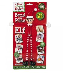 Bendy Christmas Elf Figure 30cm