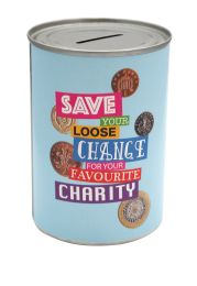 Favourite Charity Savings Tin