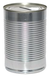 Blank Savings Tin - Standard