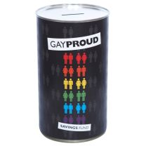 GayProud Fund Savings Tin - large