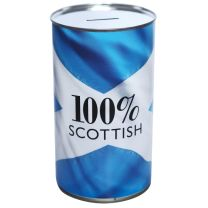 100% Scottish Saver Savings Tin - large