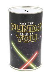 May the Funds Be with You Savings Tin - (LRG)