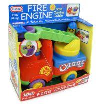 FUN TIME - Push Along Fire Engine