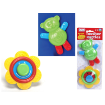 Baby Rattle and Teether - Wrapped Grotto Toy