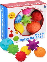 A to Z My First Baby Multi Textured Sensory Soft Balls