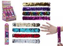 Kids Sequin Snap Bracelet