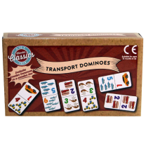 Wooden Transport Dominoes - Wrapped Grotto Toy