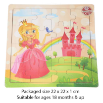 Wooden Princess Puzzle - Wrapped Grotto Toy