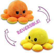 Flip'ems 2-in-1 Mood Octopus Reversible Squid