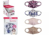 Reusable Face Mask Ladies Fashion Stretchable Face Covering 01