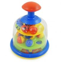 Fun Time - Spinning Popping Pals Baby Toy