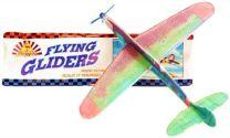 Polystyrene Flying Gliders