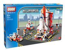 Wt - Space Shuttle Launcher Building Brick Set Compatible with Lego 678pcs