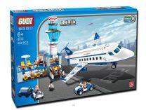 Airport Building Brick Set Compatible with Lego 652pcs