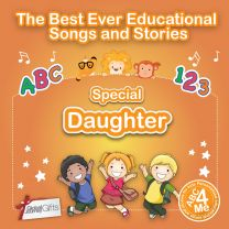 Personalised Songs & Story Book for a Special Daughter