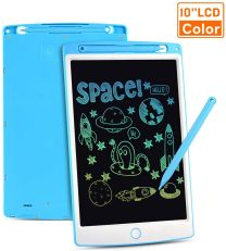 WOW Tastic W93480 LCD Drawing 10 INCH Kids Learning Tablet Blue
