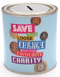 Charity Money Tin - 500ml