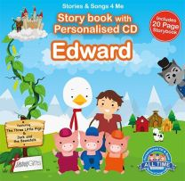Personalised Songs & Story Book for Edward