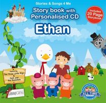 Personalised Songs & Story Book for Ethan