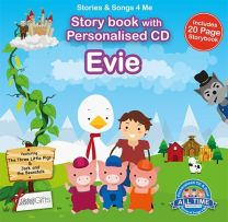 Personalised Songs & Story Book for Evie