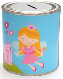 Fairy Princess Money Tin - 500ml