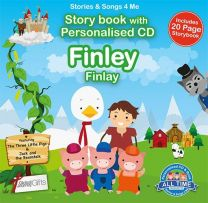 Personalised Songs & Story Book for Finley