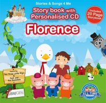 Personalised Songs & Story Book for Florence
