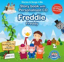 Personalised Songs & Story Book for Freddie