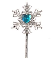 Ice Frozen Snowflake Princess Wand 34cm