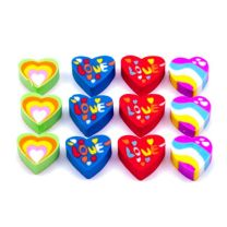 Mini Love Heart Erasers