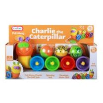 FUN TIME - Charlie the Caterpillar Pull Along Toy