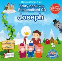 Personalised Songs & Story Book for Joseph