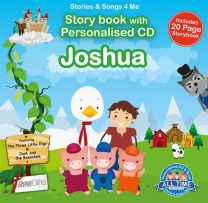 Personalised Songs & Story Book for Joshua