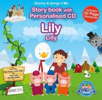 Personalised Songs & Story Book for Lily