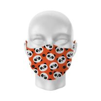 Panda Reusable Face Covering - Kids 01