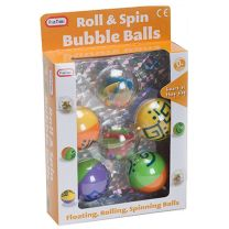Fun Time Roll & Spin Bubble Balls