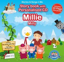 Personalised Songs & Story Book for Millie