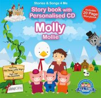 Personalised Songs & Story Book for Molly